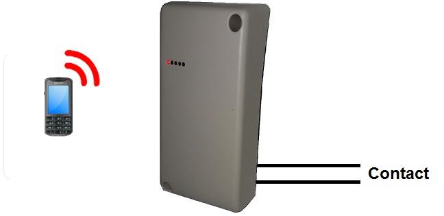 principe t�l�commande GSM